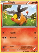 Tepig from Black and White