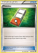 Pokédex from Black and White