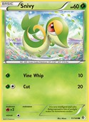 Snivy from Boundaries Crossed