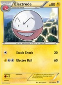 Electrode from Boundaries Crossed