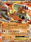 Landorus-EX from Boundaries Crossed