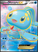 Manaphy-EX from BREAKpoint