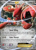 Scizor-EX from BREAKpoint