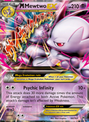M Mewtwo-EX from BREAKthrough