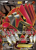 Groudon-EX from Dark Explorers