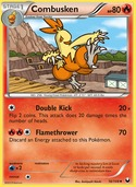 Combusken from Dark Explorers