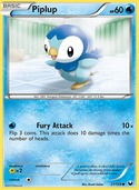 Piplup from Dark Explorers
