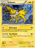 Jolteon from Dark Explorers