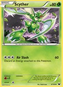 Scyther from Dark Explorers
