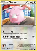 Chansey from Dark Explorers
