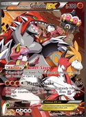 Team Magma's Groudon-EX from Double Crisis