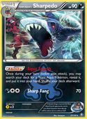 Team Aqua's Sharpedo from Double Crisis