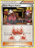 Team Magma Admin from Double Crisis
