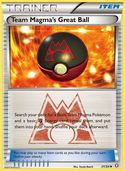 Team Magma's Great Ball from Double Crisis