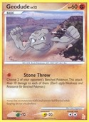 Geodude from DP Trainer Kit