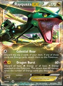Rayquaza-EX from Dragons Exalted