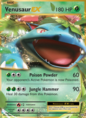 Venusaur-EX from Evolutions