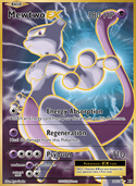 Mewtwo-EX from Evolutions