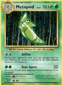 Metapod from Evolutions
