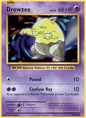 Drowzee from Evolutions