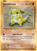 Sandshrew from Evolutions