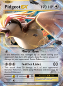 Pidgeot-EX from Evolutions