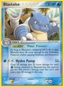 Blastoise from ex Crystal Guardians