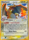Charizard δ from ex Crystal Guardians
