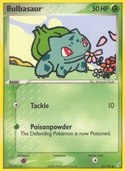 Bulbasaur from ex Crystal Guardians