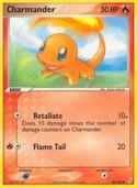 Charmander from ex Crystal Guardians