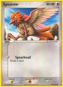 Spearow from ex Crystal Guardians