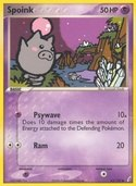 Spoink from ex Crystal Guardians