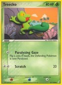 Treecko from ex Crystal Guardians