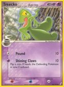 Treecko δ from ex Crystal Guardians