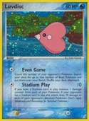Luvdisc from ex Crystal Guardians