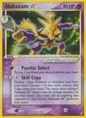 Alakazam Star from ex Crystal Guardians