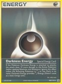 Darkness Energy from ex Delta Species