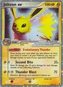 Jolteon ex from ex Delta Species