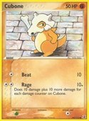 Cubone from ex Delta Species