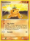 Sandshrew from ex Delta Species
