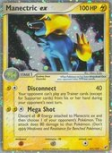 Manectric ex from ex Deoxys