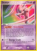 Deoxys from ex Deoxys