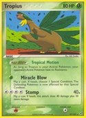 Tropius from ex Deoxys
