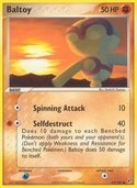 Baltoy from ex Deoxys