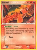 Numel from ex Deoxys
