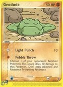 Geodude from ex Dragon