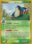 Snorlax δ from ex Dragon Frontiers