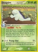Quagsire δ from ex Dragon Frontiers