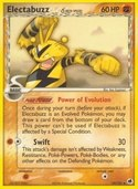 Electabuzz δ from ex Dragon Frontiers