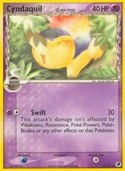 Cyndaquil δ from ex Dragon Frontiers